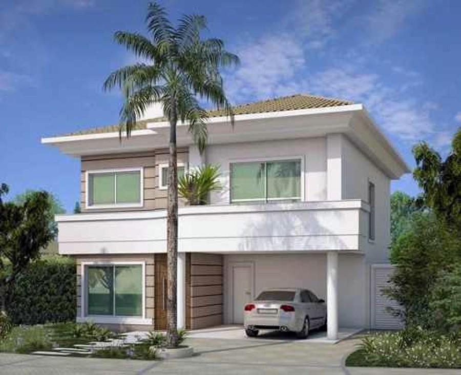 Fotos de fachadas de casas duplex decorando casas for Construir casas modernas