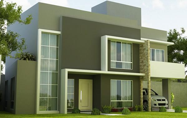 Fotos de fachadas de casas duplex decorando casas for Modelos de casas fachadas fotos