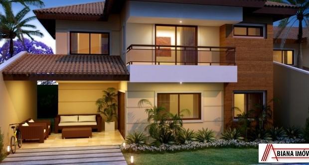 Fotos de fachadas de casas duplex decorando casas for Modelos de fachadas para casas de 2 pisos
