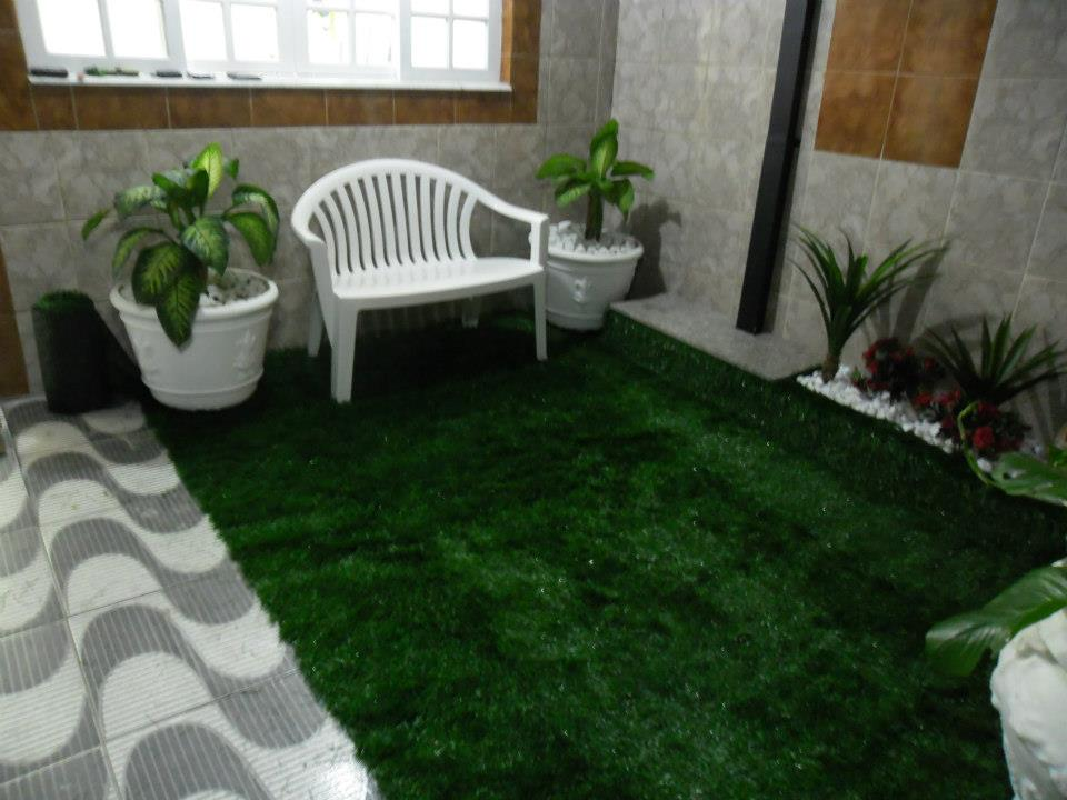 Fotos de grama sintética para jardim