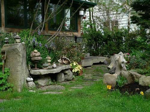 Fotos de pedras decorativas para jardim  Decorando Casas