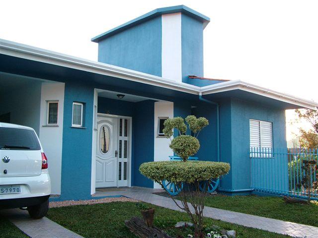 Fotos de pinturas de casas simples decorando casas - Pintura para fachadas de casas ...