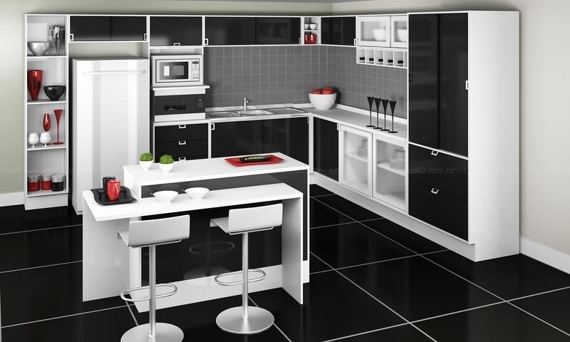 decoracao piso branco:Pisos porcelanato preto e branco