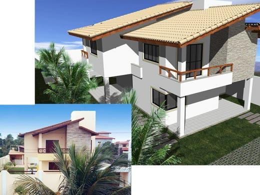 Fotos de projetos de casas 3d gr tis decorando casas for Simulador de casas 3d gratis