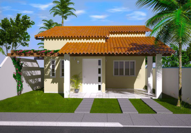 Projetos de casas modernas e pequenas gr tis decorando casas - Diseno de habitaciones pequenas ...