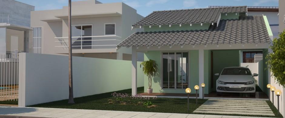 Projetos de casas modernas e pequenas gr tis decorando casas - Fotos de casas pequenas ...