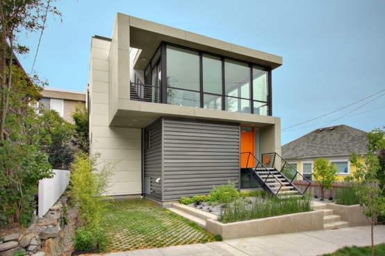 Projetos de casas modernas e pequenas gr tis decorando casas for Casa moderna gratis