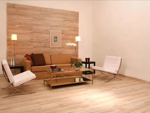 Revestimento Parede Interna Quarto ~ Revestimento de madeira para parede pre?os e fotos  Decorando Casas