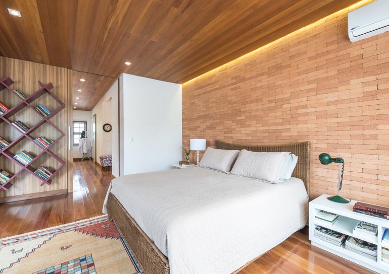 Revestimento de madeira para parede preços e fotos  ~ Revestimento Interno Para Quarto
