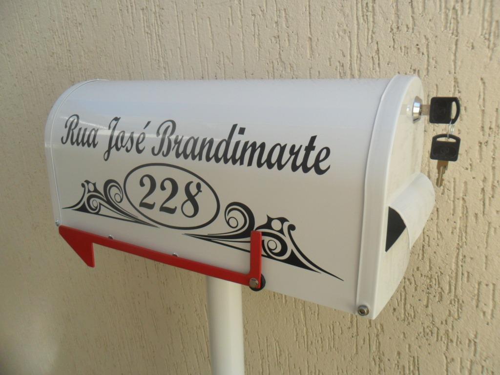 Fotos e modelos de caixas de correio americana Decorando Casas #76221A 1024x768