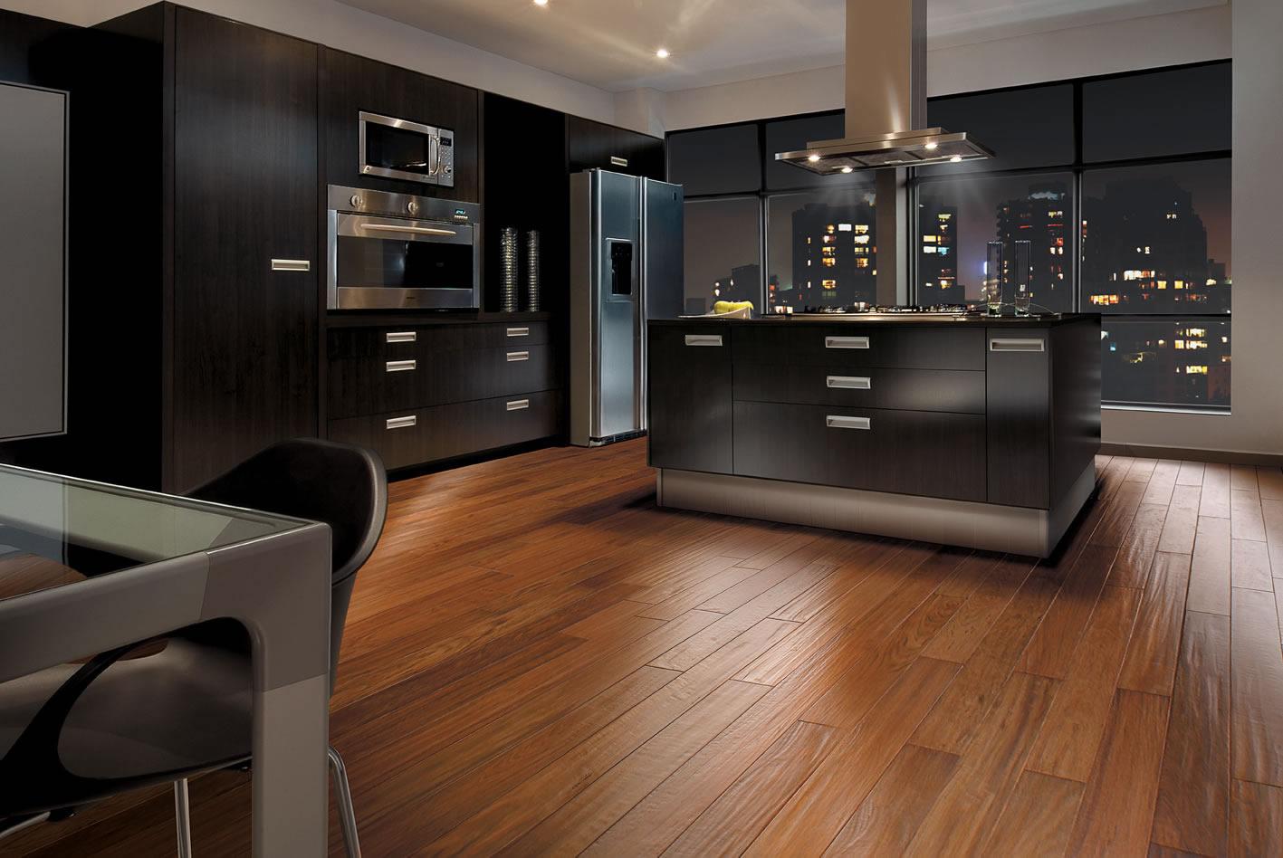 Pisos laminados durafloor pre os e fotos decorando casas for Piso cocinas minimalistas
