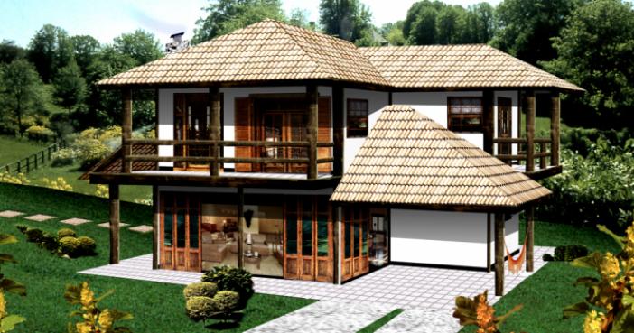 Projetos de casas de campo modernas decorando casas - Casas de campo pequenas ...