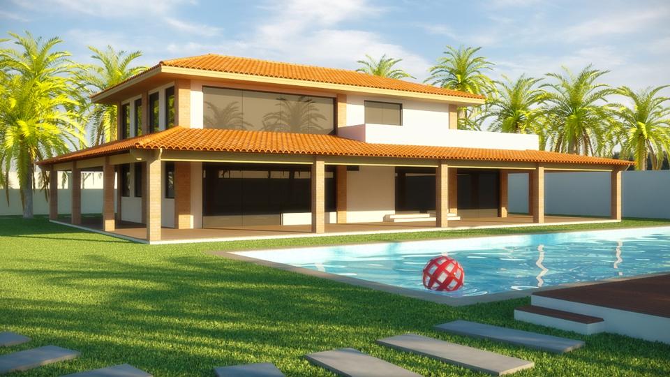 Projetos de casas de campo modernas decorando casas for Modelos de casas de campo de una planta