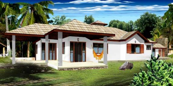 Projetos de casas de campo modernas decorando casas for Como construir una casa de campo
