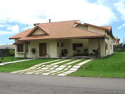 Projetos de casas de campo modernas decorando casas for Fachadas casas de campo campestres