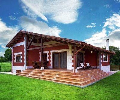 Projetos de casas de campo modernas decorando casas for Fachadas de casas de campo rusticas fotos