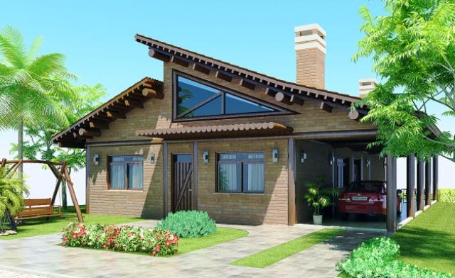 10 fachadas para casas modernas - Tudo Construção