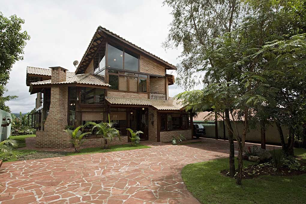 Projetos de casas de campo modernas decorando casas for Casas modernas rusticas