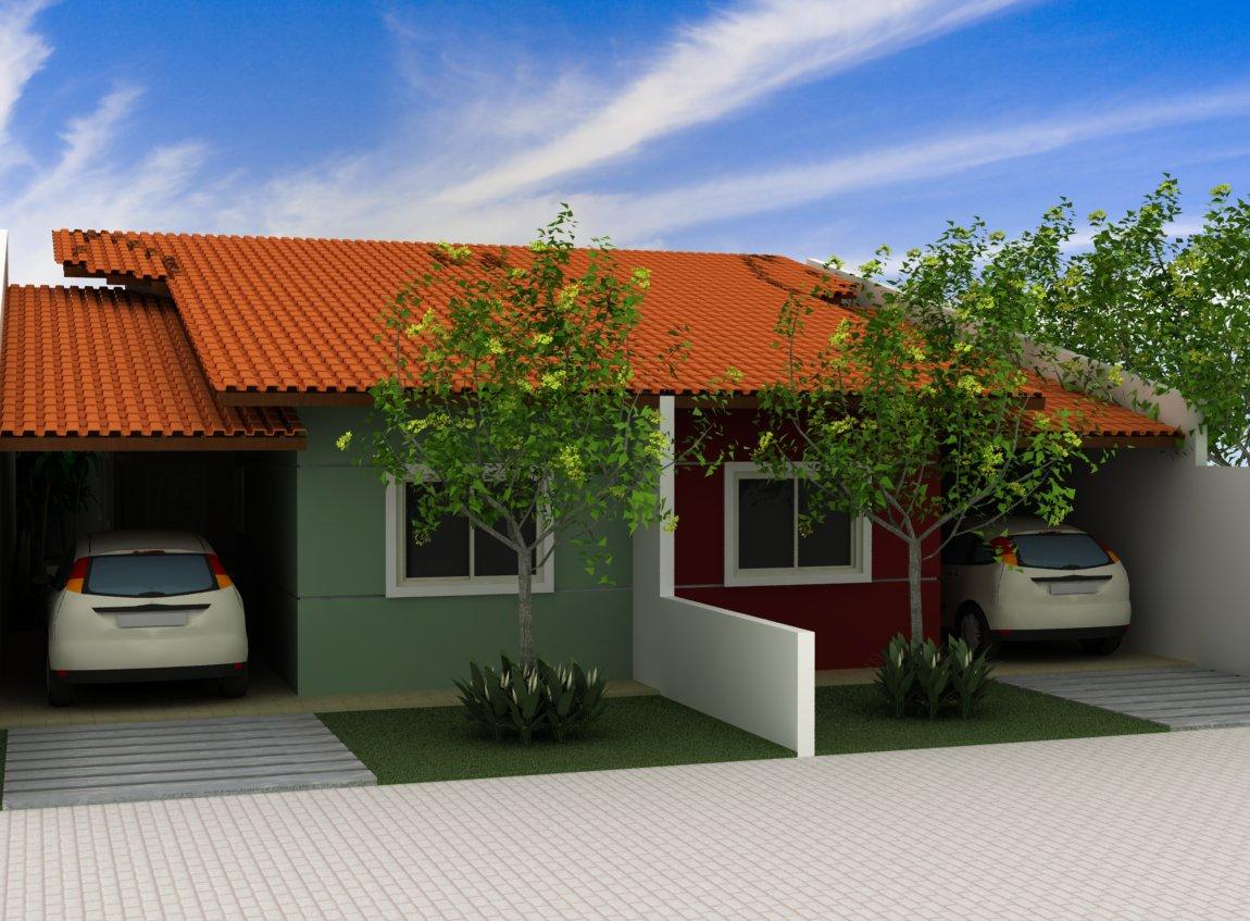 Projetos de casas geminadas gr tis decorando casas for Decorando casa