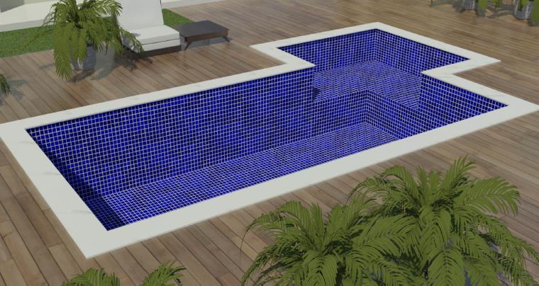 Fotos de modelos de piscinas de alvenaria modelos de for Modelos de piscinas cuadradas