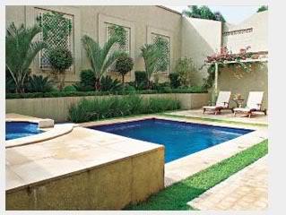 Modelos de piscina de alvenaria