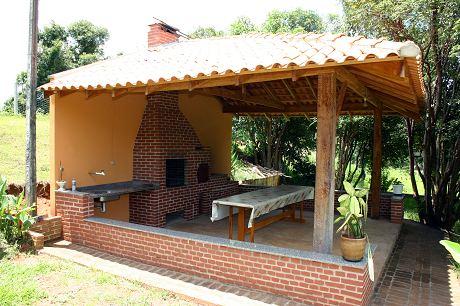 Fotos de decora o de rea de lazer r stica decorando casas - Decorar sitios pequenos ...