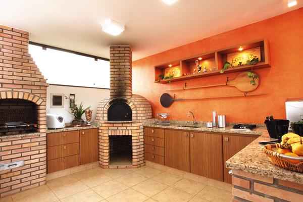 Fotos de decora o de rea de lazer r stica decorando casas for Cocinas externas