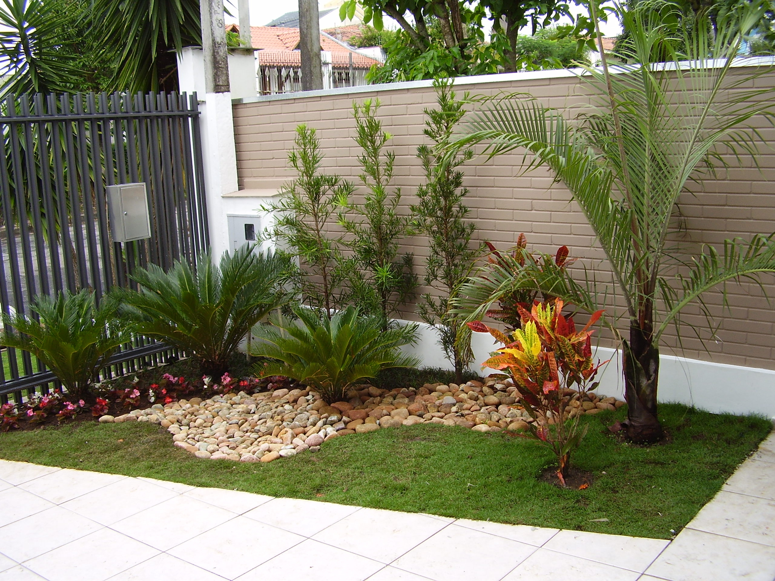 Como fazer um belo jardim para casa gastando pouco for Decorando casa