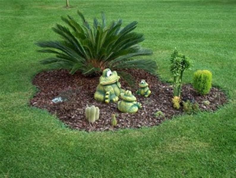 um jardim simplesComo fazer um belo jardim para casa gastando pouco