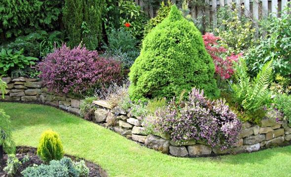 jardim quintal grande:Small Rock Garden Design Ideas