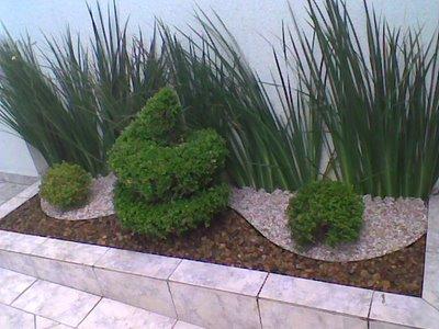 Como fazer um jardim simples e barato no quintal for Jardins pequenos e simples