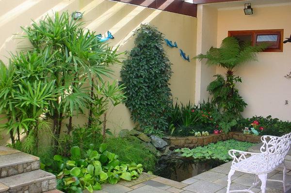 jardins quintal pequeno:Jardim De Inverno