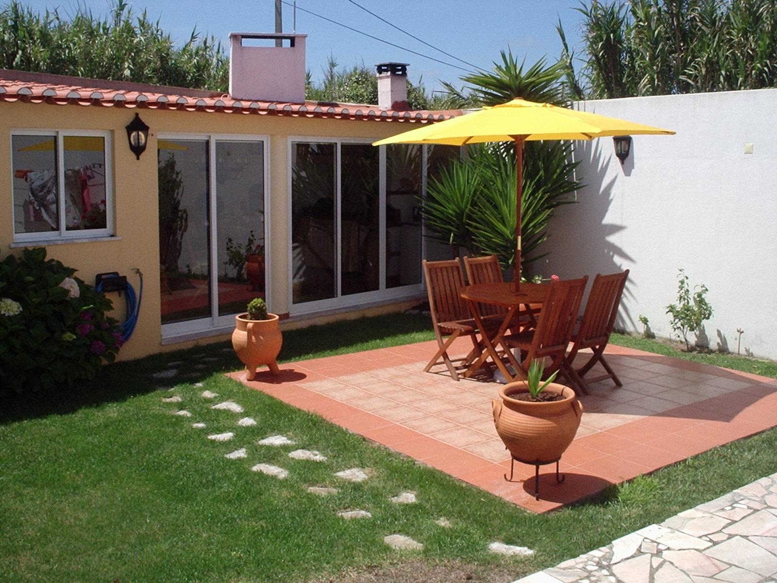 Fotos de decoração para quintal simples e pequeno