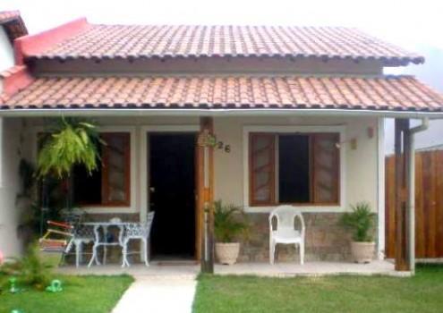 Fotos de fachadas de casas simples pequenas e baratas for Casas para jardin baratas