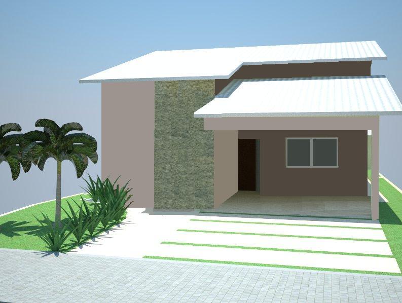 Fotos de fachadas de casas simples pequenas e baratas for Casas modernas simples