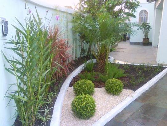fotos jardins residenciais pequenos simplesDecoracao De Jardins