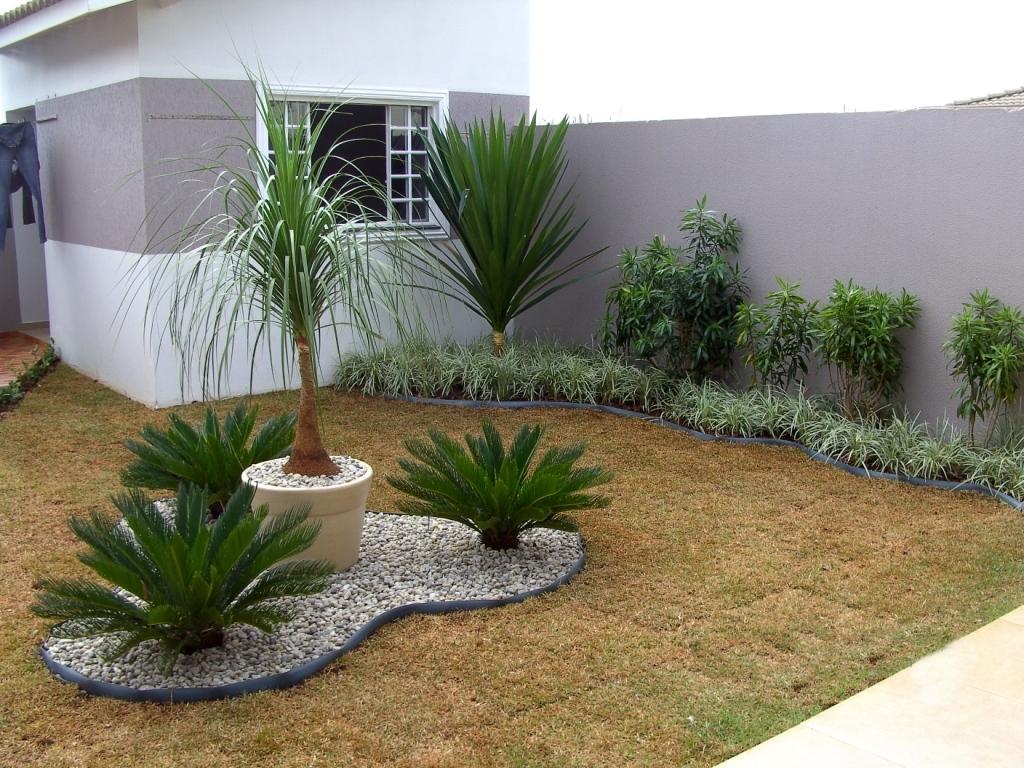 Modelos de jardins residenciais para frente de casa  Decorando Casas
