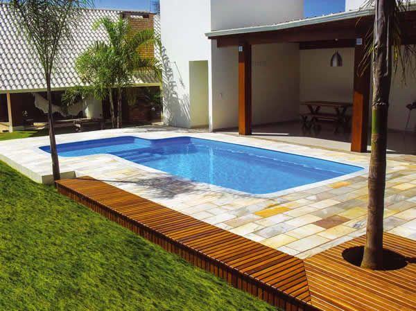 Dicas de paisagismo e jardinagem com piscina decorando casas for Imagenes de albercas modernas