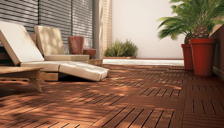 Fotos de pisos para rea externa e garagem decorando casas for Pisos de exterior modernos