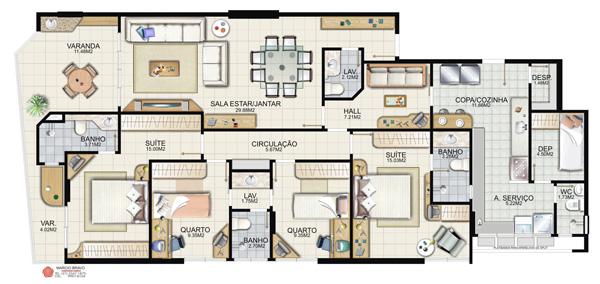 plantas de casas com 4 quartos gr tis decorando casas