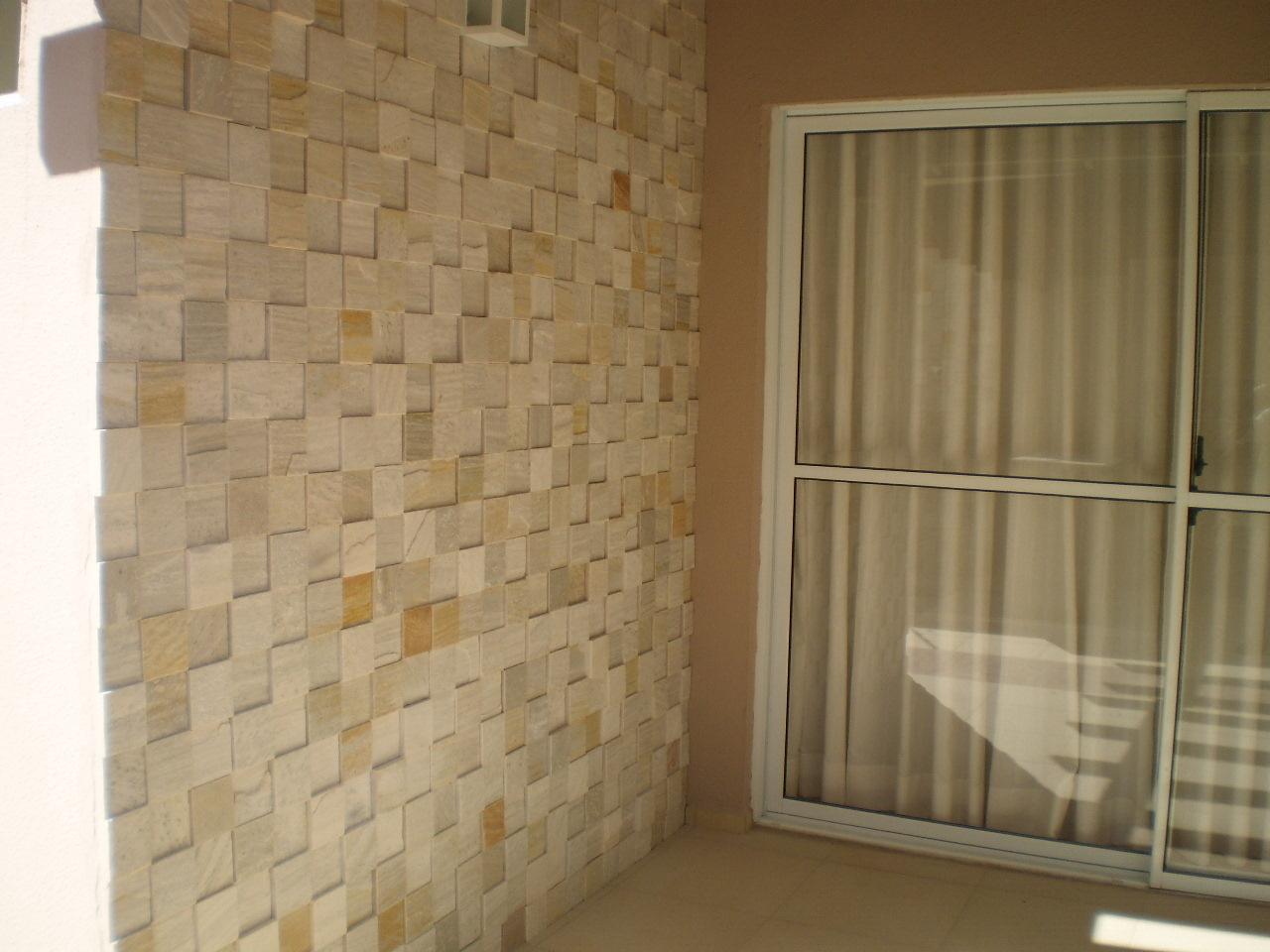 Revestimento de parede externa em pedra decorando casas - Revestimiento de parede ...