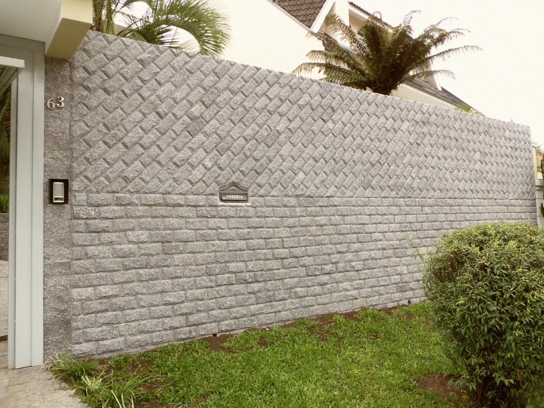 Revestimento De Parede Externa Em Pedra Decorando Casas