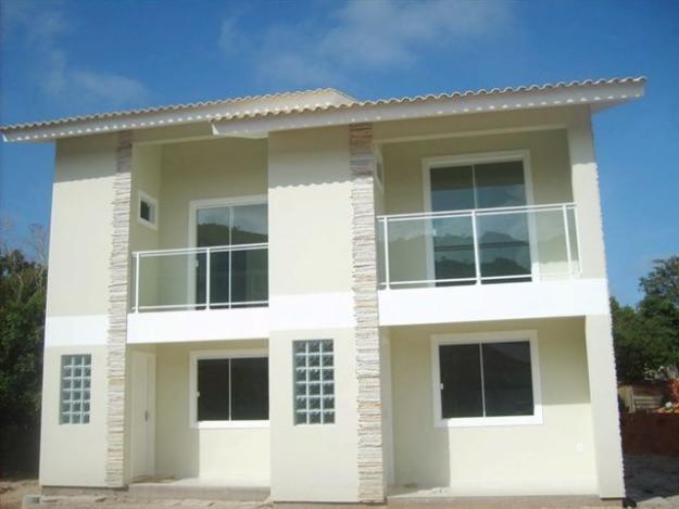Fachadas de sobrados pequenos e modernos decorando casas for Fachadas apartamentos modernos