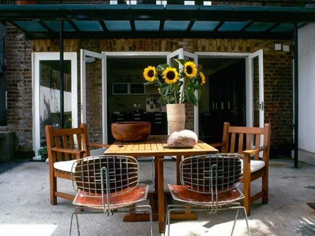 Fotos de decora o para rea externa moderna decorando casas for Verande arredate