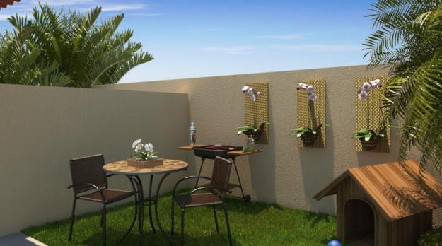 Decora o para quintal pequeno com piscina decorando casas Fotos piscinas para espacios pequenos