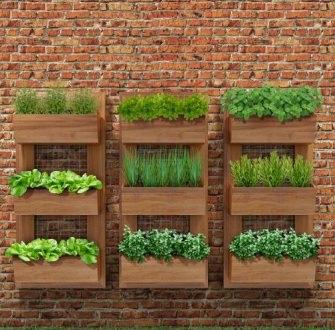 Como fazer um jardim vertical simples e barato for Jardines verticales para exteriores