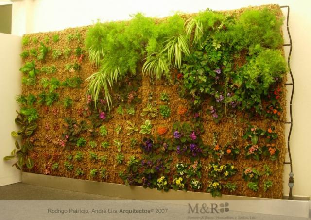jardim vertical simples:Como Fazer Um Jardim Vertical