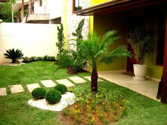jardim ideias simples : jardim ideias simples:Modelos De Jardins Residenciais