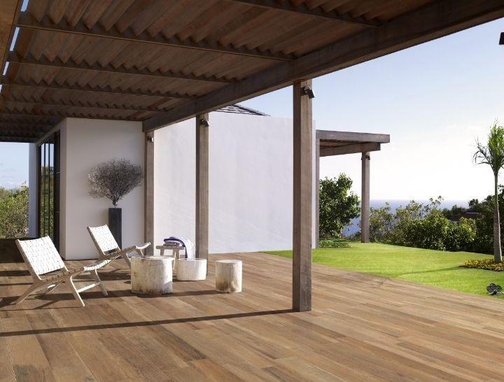 Dicas de pisos de porcelanato para exteriores decorando casas - Pavimento esterno finto legno ...