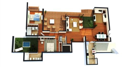 Plantas de casas modernas e econ micas decorando casas for Casas sencillas y economicas